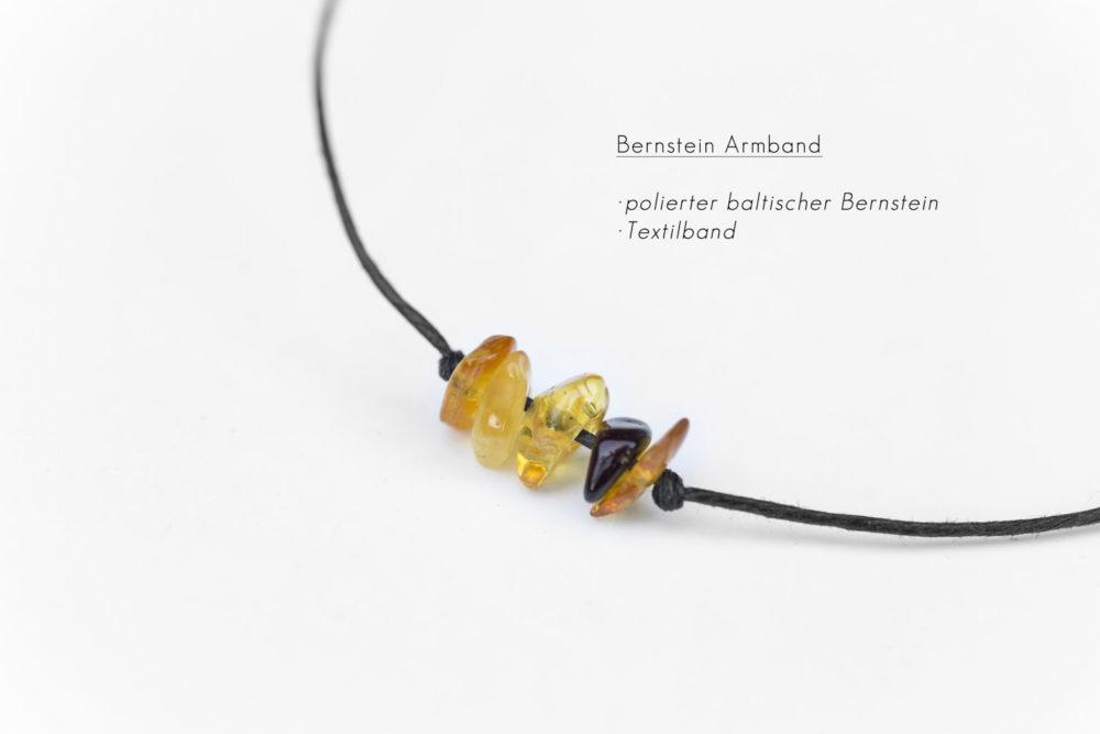 dezentes Bernstein Armband